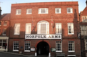 2 Nights for the Price of 1 at Norfolk Arms Hotel Image