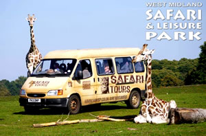 West Midland Safari Park Family Retreat Image